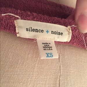 1ae00feafd silence + noise Tops - Muted Purple Rainbow Terry Cloth Tube Top